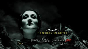 Dracula's Daughter (Menu-Screenshot 1)