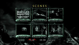 Dracula's Daughter (Menu-Screenshot 2)