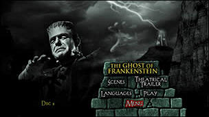 Ghost of Frankenstein, The (Menu-Screenshot 1)