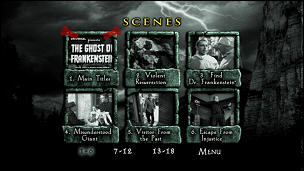 Ghost of Frankenstein, The (Menu-Screenshot 2)