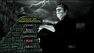House of Frankenstein (Menu-Screenshot 1)
