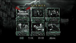 House of Frankenstein (Menu-Screenshot 2)