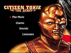 Citizen Toxie: The Toxic Avenger IV (Special Collector's Edition) (Menu-Screenshot 1)