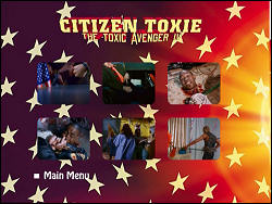 Citizen Toxie: The Toxic Avenger IV (Special Collector's Edition) (Menu-Screenshot 2)