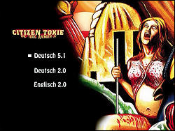 Citizen Toxie: The Toxic Avenger IV (Special Collector's Edition) (Menu-Screenshot 4)