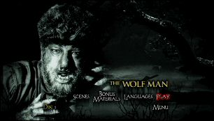 Wolf Man, The (Menu-Screenshot 1)
