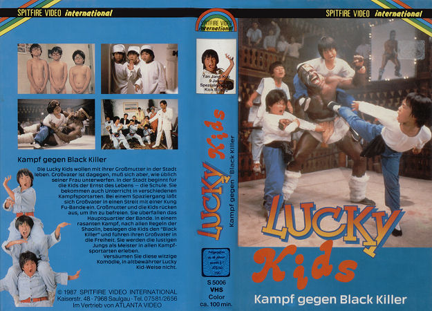 Lucky Kids - Kampf gegen Black Killer