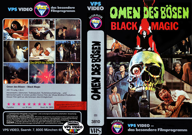 Omen des Bösen - Black Magic