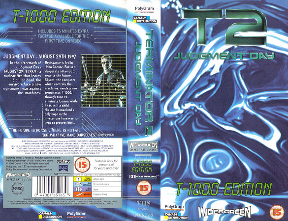T2 - Judgment Day (T-1000 Edition)